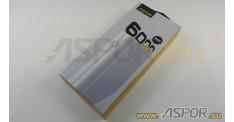 Внешний аккумулятор ASPOR A343 (Power Bank), черный