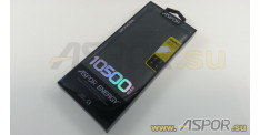 Внешний аккумулятор ASPOR A382 (Power Bank), черный