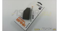 Внешний аккумулятор ASPOR A325 (Power Bank), черный