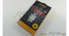 Зарядное устройство ASPOR A818 Plus USB, + кабель Type-C