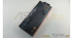 Наушники Aspor A613 (Bluetooth 4.1) + микрофон (черный)