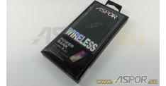 Внешний аккумулятор ASPOR A336W (Power Bank), черный