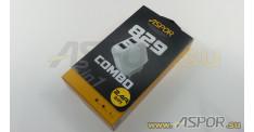 Зарядное устройство ASPOR A829 2USB, + кабель USB - Lightning