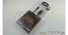 Кабель ASPOR AC-01, micro USB, черный