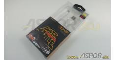 Кабель ASPOR AC-01, micro USB, белый