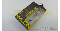 Кабель ASPOR A173, micro USB, серебро