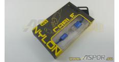Кабель ASPOR A173, micro USB, синий