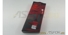 Кабель ASPOR AC-11,  micro USB, красный