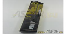Кабель ASPOR AC-11, micro USB, серый