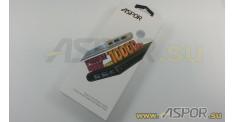 Внешний аккумулятор ASPOR A326 (Power Bank), белый