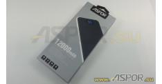 Внешний аккумулятор ASPOR A386 (Power Bank), черный