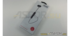 Наушники Aspor A611 (Bluetooth 4.1) + микрофон (черный)