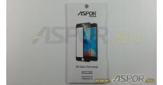 Защитное стекло Aspor 6D (Gorilla Glass ) для телефона iPhone 6/6S (4,7), черное