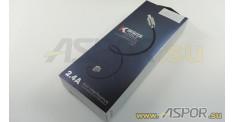 Кабель ASPOR A116, micro USB, синий