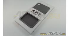 Задняя накладка ASPOR для iPhone XR серия SIMPLE, черная