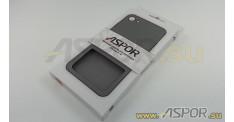 """Задняя накладка ASPOR  для iPhone 7/8 (4.7"""") серия SIMPLE, черная"""