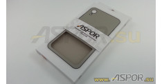 Задняя накладка ASPOR для iPhone XR серия SIMPLE, серая