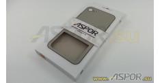 """Задняя накладка ASPOR  для iPhone 7/8 (4.7"""") серия SIMPLE, серая"""