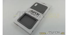 Задняя накладка ASPOR для iPhone X/XS серия SIMPLE, черная