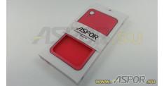Задняя накладка ASPOR для iPhone XR серия SIMPLE, красная