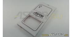 Задняя накладка ASPOR для iPhone XR серия SIMPLE, белая