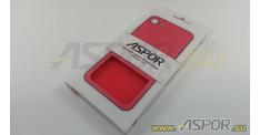 """Задняя накладка ASPOR  для iPhone 7/8 (4.7"""") серия SIMPLE, красная"""