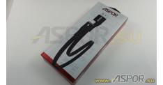 Кабель ASPOR A111, micro USB, черный