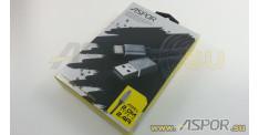 Кабель ASPOR A133L, TYPE-C, серый, 2m