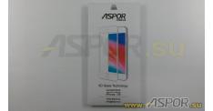 """Защитное стекло Aspor 6D (Gorilla Glass ) для телефона iPhone 7/8 (4,7""""), белое"""