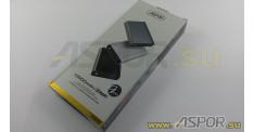 Внешний аккумулятор ASPOR A329 (Power Bank), серый