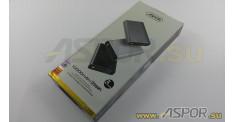 Внешний аккумулятор ASPOR A329 (Power Bank), черный