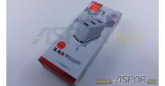 Зарядное устройство ASPOR A833, USB + кабель USB - Type-C