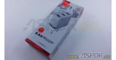 Зарядное устройство ASPOR A833, USB + кабель USB - micro USB