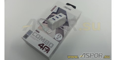 Зарядное устройство ASPOR A831, USB