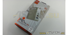 Зарядное устройство ASPOR A838, USB + кабель USB - micro USB